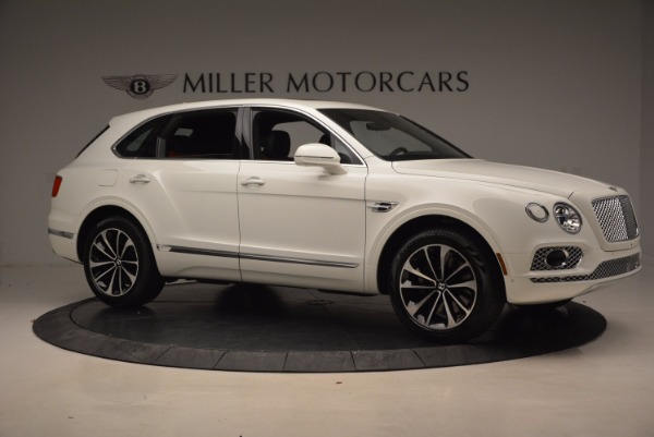 New 2018 Bentley Bentayga Onyx for sale Sold at Alfa Romeo of Greenwich in Greenwich CT 06830 10