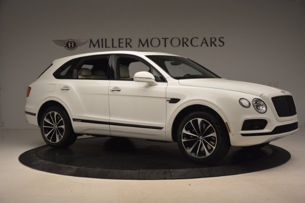 Used 2018 Bentley Bentayga Onyx for sale Sold at Alfa Romeo of Greenwich in Greenwich CT 06830 10