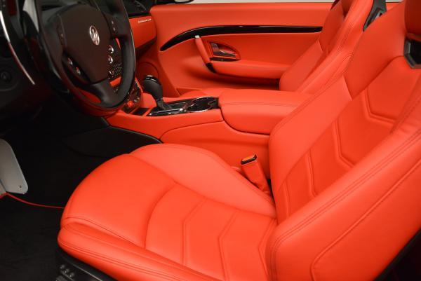 New 2016 Maserati GranTurismo Convertible Sport for sale Sold at Alfa Romeo of Greenwich in Greenwich CT 06830 26