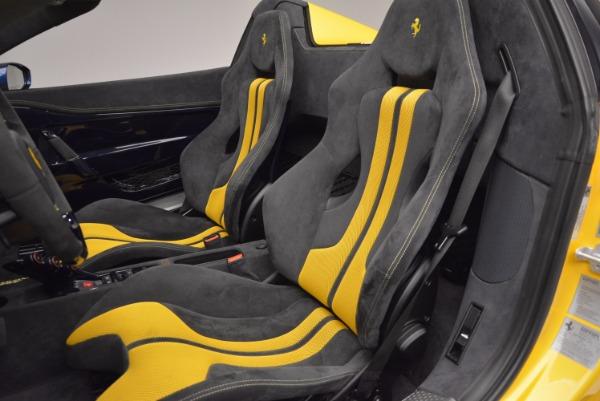 Used 2015 Ferrari 458 Speciale Aperta for sale Sold at Alfa Romeo of Greenwich in Greenwich CT 06830 23