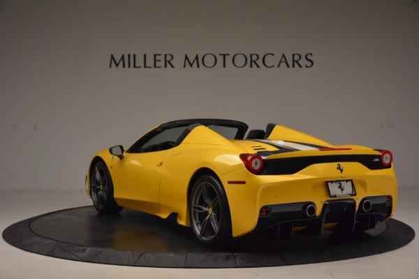 Used 2015 Ferrari 458 Speciale Aperta for sale Sold at Alfa Romeo of Greenwich in Greenwich CT 06830 5
