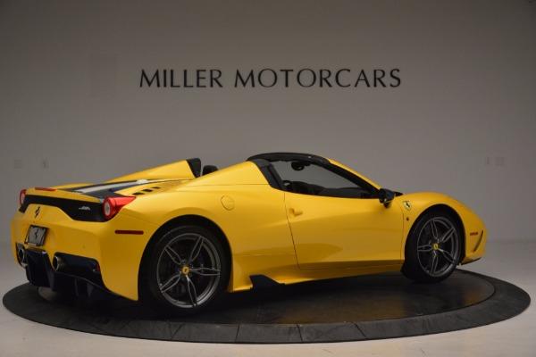 Used 2015 Ferrari 458 Speciale Aperta for sale Sold at Alfa Romeo of Greenwich in Greenwich CT 06830 8