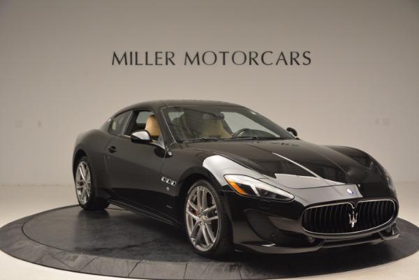 Used 2015 Maserati GranTurismo Sport Coupe for sale Sold at Alfa Romeo of Greenwich in Greenwich CT 06830 11