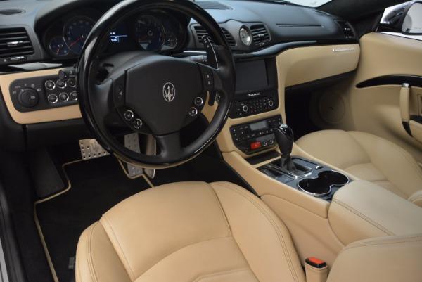 Used 2015 Maserati GranTurismo Sport Coupe for sale Sold at Alfa Romeo of Greenwich in Greenwich CT 06830 13