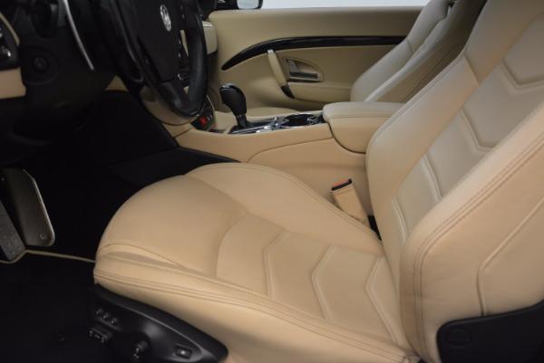 Used 2015 Maserati GranTurismo Sport Coupe for sale Sold at Alfa Romeo of Greenwich in Greenwich CT 06830 14