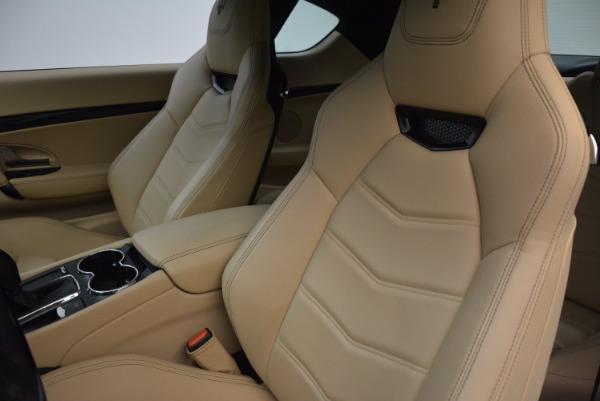 Used 2015 Maserati GranTurismo Sport Coupe for sale Sold at Alfa Romeo of Greenwich in Greenwich CT 06830 15