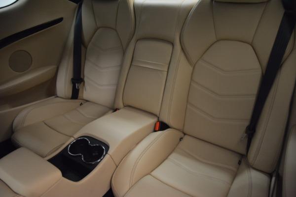 Used 2015 Maserati GranTurismo Sport Coupe for sale Sold at Alfa Romeo of Greenwich in Greenwich CT 06830 16