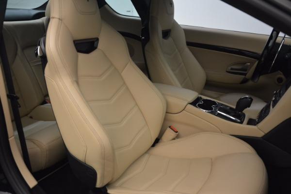Used 2015 Maserati GranTurismo Sport Coupe for sale Sold at Alfa Romeo of Greenwich in Greenwich CT 06830 24