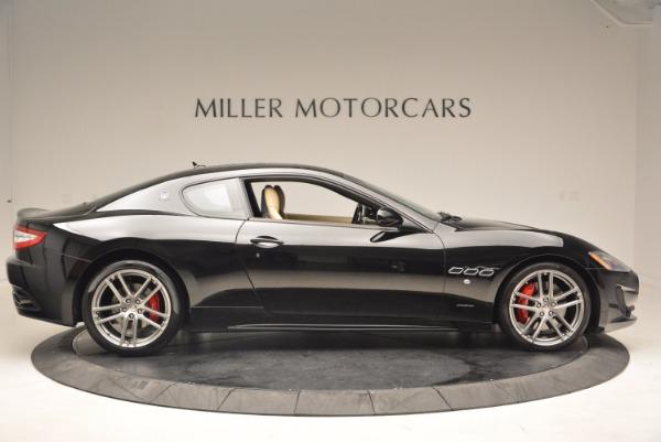 Used 2015 Maserati GranTurismo Sport Coupe for sale Sold at Alfa Romeo of Greenwich in Greenwich CT 06830 9