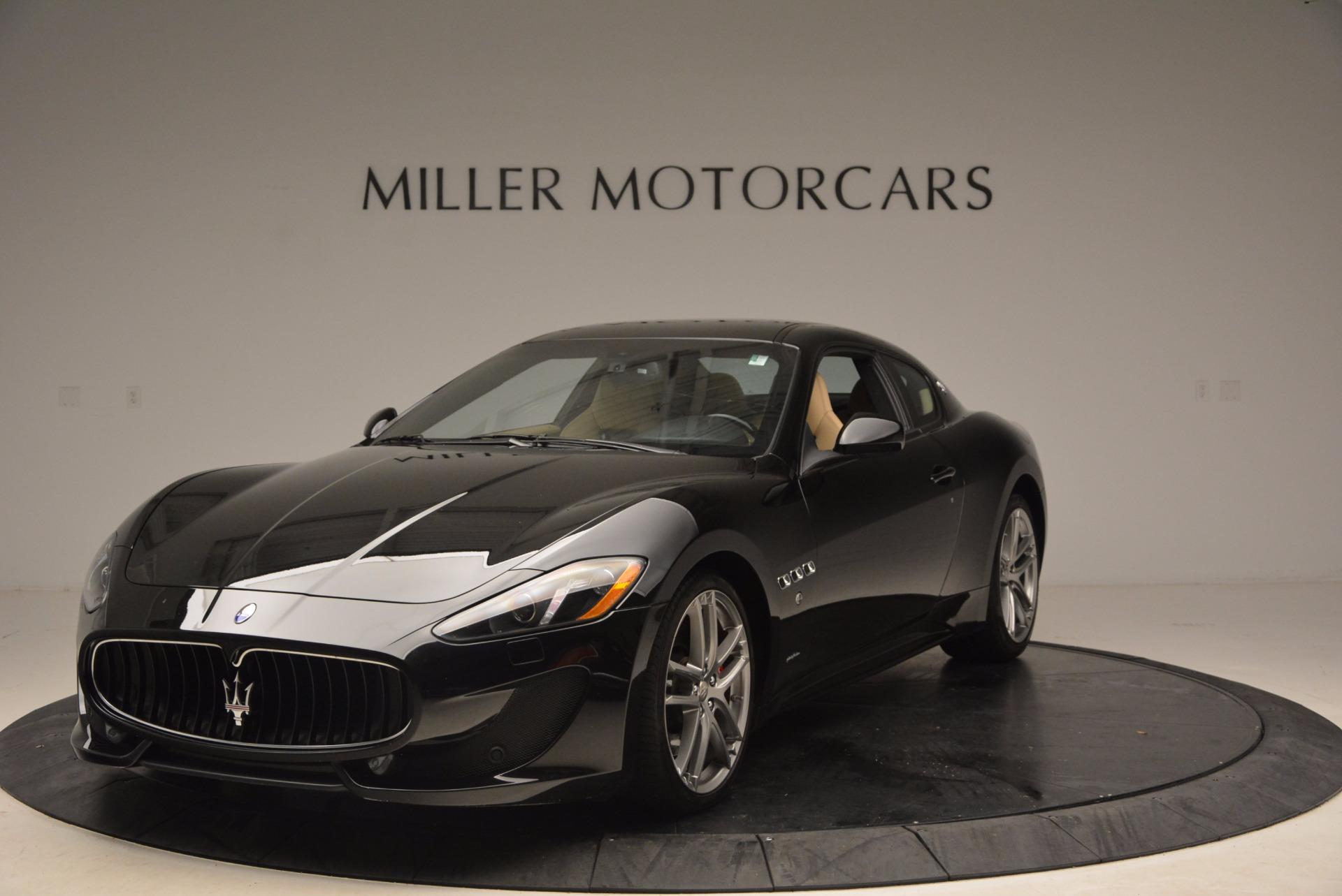 Used 2015 Maserati GranTurismo Sport Coupe for sale Sold at Alfa Romeo of Greenwich in Greenwich CT 06830 1