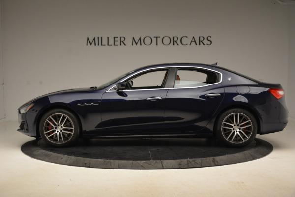 New 2018 Maserati Ghibli S Q4 for sale Sold at Alfa Romeo of Greenwich in Greenwich CT 06830 3