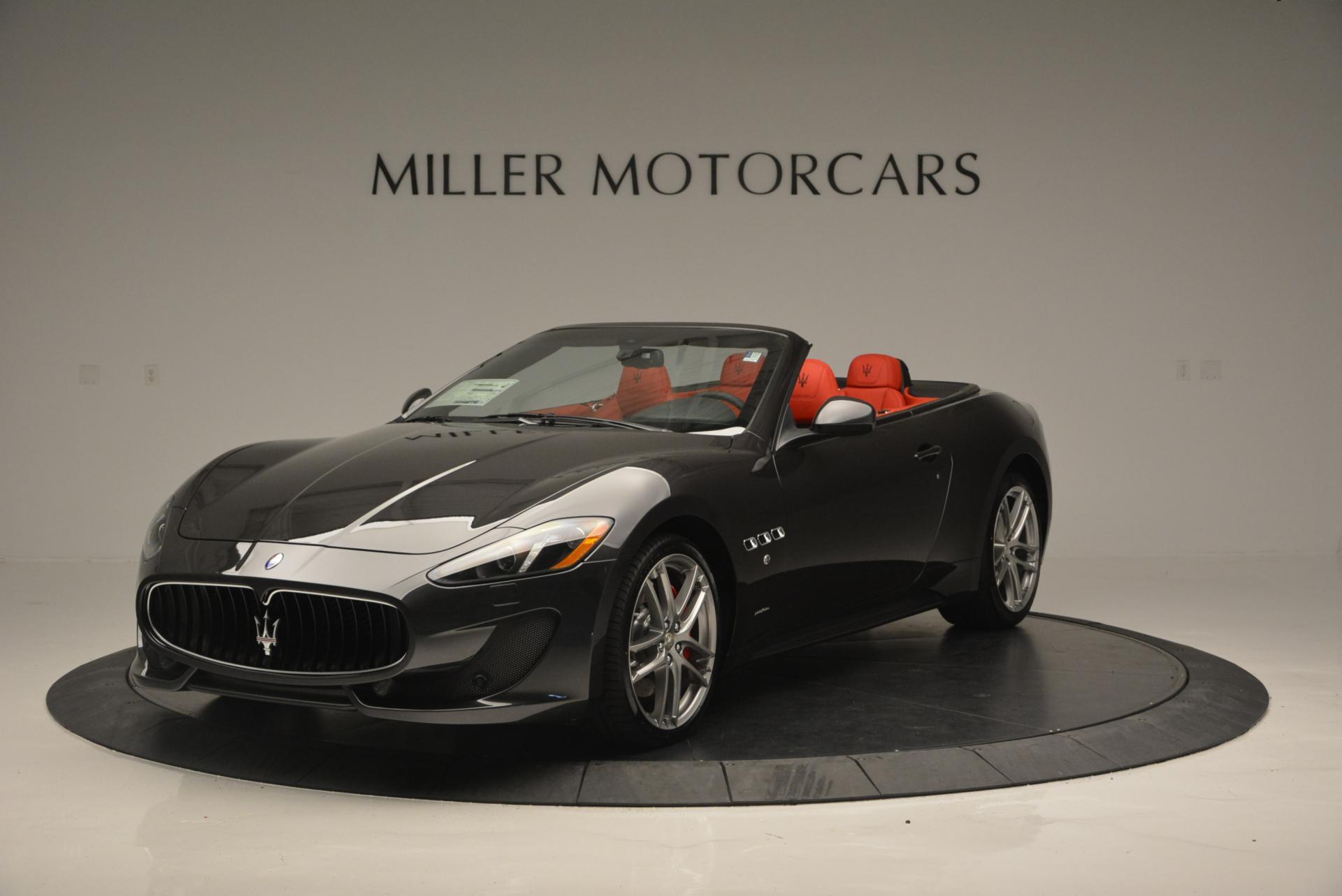 New 2017 Maserati GranTurismo Convertible Sport for sale Sold at Alfa Romeo of Greenwich in Greenwich CT 06830 1