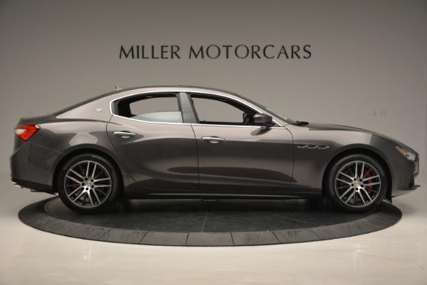 Used 2018 Maserati Ghibli S Q4 for sale Sold at Alfa Romeo of Greenwich in Greenwich CT 06830 9