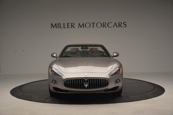 Used 2012 Maserati GranTurismo for sale Sold at Alfa Romeo of Greenwich in Greenwich CT 06830 12