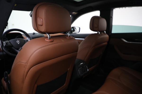 Used 2018 Maserati Levante Q4 for sale $57,900 at Alfa Romeo of Greenwich in Greenwich CT 06830 19
