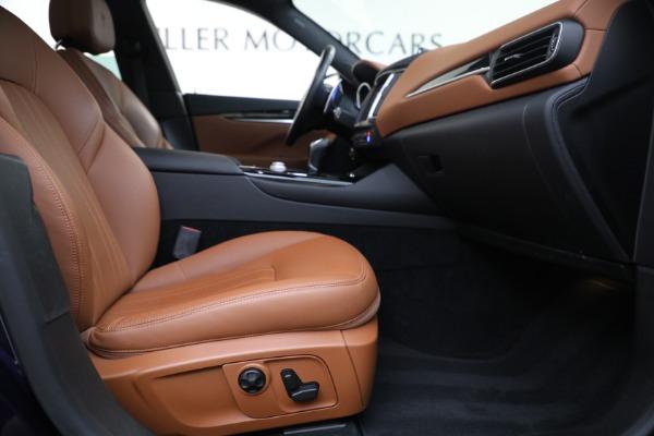 Used 2018 Maserati Levante Q4 for sale $57,900 at Alfa Romeo of Greenwich in Greenwich CT 06830 22