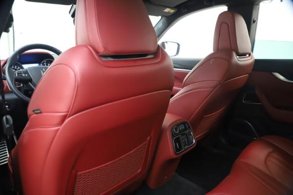 Used 2018 Maserati Levante S GranSport for sale $63,900 at Alfa Romeo of Greenwich in Greenwich CT 06830 21