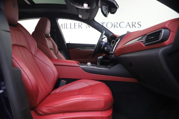 Used 2018 Maserati Levante S GranSport for sale $63,900 at Alfa Romeo of Greenwich in Greenwich CT 06830 23