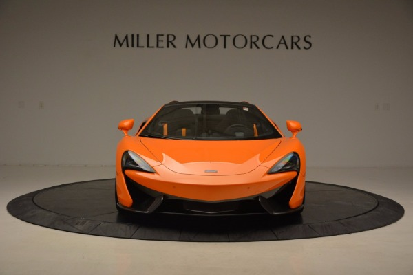 New 2018 McLaren 570S Spider for sale Sold at Alfa Romeo of Greenwich in Greenwich CT 06830 12