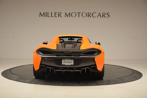 New 2018 McLaren 570S Spider for sale Sold at Alfa Romeo of Greenwich in Greenwich CT 06830 18