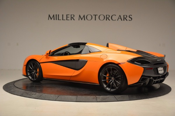 New 2018 McLaren 570S Spider for sale Sold at Alfa Romeo of Greenwich in Greenwich CT 06830 4