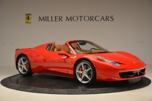 Used 2012 Ferrari 458 Spider for sale Sold at Alfa Romeo of Greenwich in Greenwich CT 06830 10