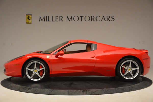 Used 2012 Ferrari 458 Spider for sale Sold at Alfa Romeo of Greenwich in Greenwich CT 06830 15