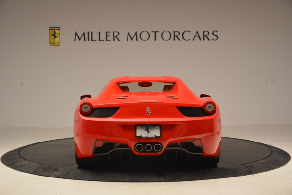 Used 2012 Ferrari 458 Spider for sale Sold at Alfa Romeo of Greenwich in Greenwich CT 06830 18