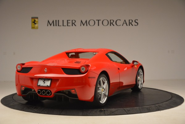 Used 2012 Ferrari 458 Spider for sale Sold at Alfa Romeo of Greenwich in Greenwich CT 06830 19