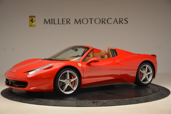 Used 2012 Ferrari 458 Spider for sale Sold at Alfa Romeo of Greenwich in Greenwich CT 06830 2