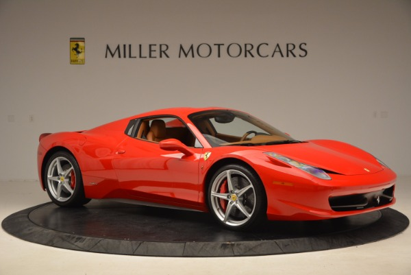 Used 2012 Ferrari 458 Spider for sale Sold at Alfa Romeo of Greenwich in Greenwich CT 06830 22