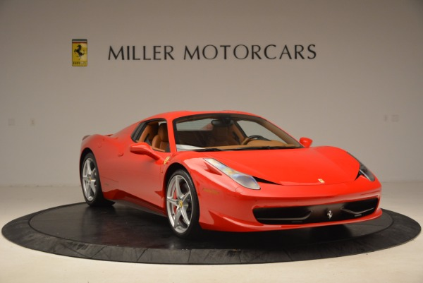 Used 2012 Ferrari 458 Spider for sale Sold at Alfa Romeo of Greenwich in Greenwich CT 06830 23