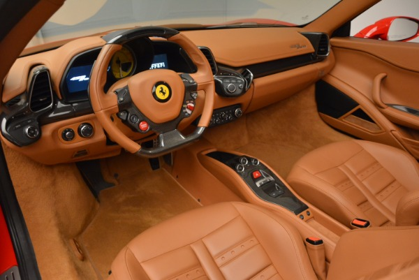 Used 2012 Ferrari 458 Spider for sale Sold at Alfa Romeo of Greenwich in Greenwich CT 06830 25