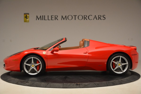 Used 2012 Ferrari 458 Spider for sale Sold at Alfa Romeo of Greenwich in Greenwich CT 06830 3