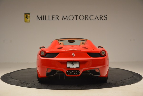 Used 2012 Ferrari 458 Spider for sale Sold at Alfa Romeo of Greenwich in Greenwich CT 06830 6