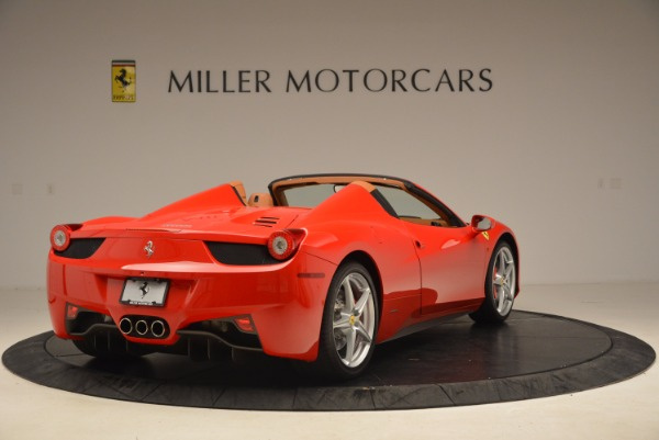 Used 2012 Ferrari 458 Spider for sale Sold at Alfa Romeo of Greenwich in Greenwich CT 06830 7