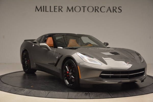 Used 2015 Chevrolet Corvette Stingray Z51 for sale Sold at Alfa Romeo of Greenwich in Greenwich CT 06830 11