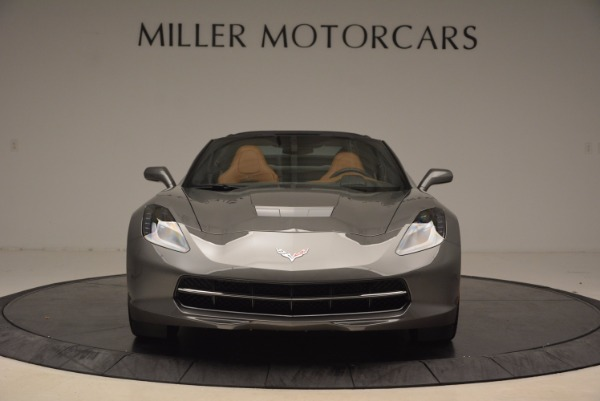 Used 2015 Chevrolet Corvette Stingray Z51 for sale Sold at Alfa Romeo of Greenwich in Greenwich CT 06830 12