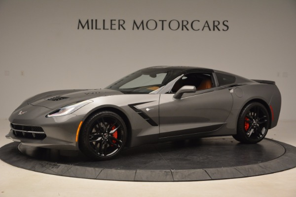Used 2015 Chevrolet Corvette Stingray Z51 for sale Sold at Alfa Romeo of Greenwich in Greenwich CT 06830 14