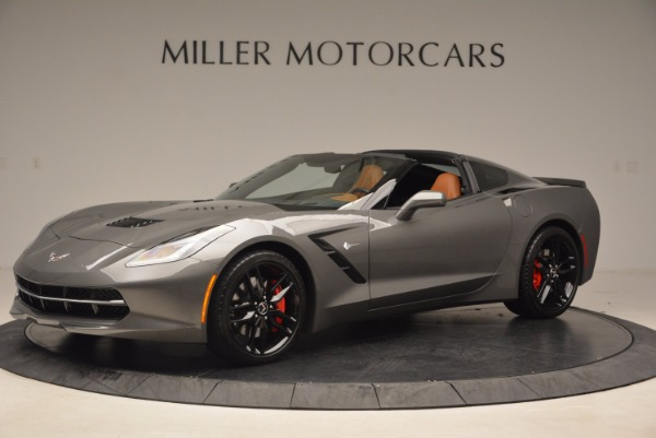 Used 2015 Chevrolet Corvette Stingray Z51 for sale Sold at Alfa Romeo of Greenwich in Greenwich CT 06830 2