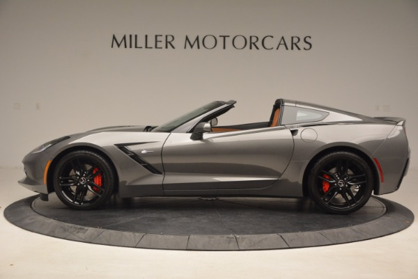 Used 2015 Chevrolet Corvette Stingray Z51 for sale Sold at Alfa Romeo of Greenwich in Greenwich CT 06830 3