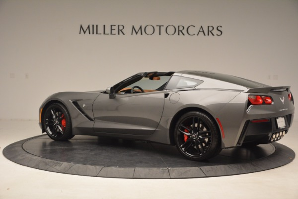 Used 2015 Chevrolet Corvette Stingray Z51 for sale Sold at Alfa Romeo of Greenwich in Greenwich CT 06830 4