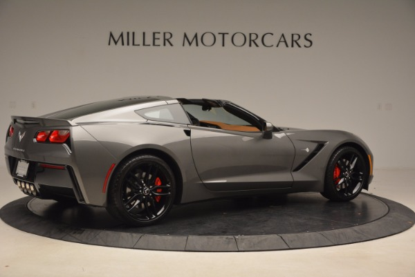Used 2015 Chevrolet Corvette Stingray Z51 for sale Sold at Alfa Romeo of Greenwich in Greenwich CT 06830 8