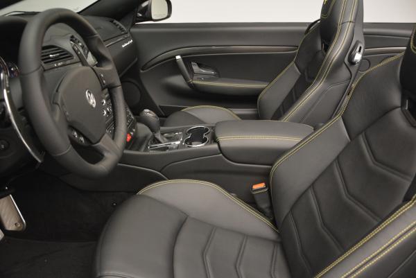 New 2017 Maserati GranTurismo Convertible Sport for sale Sold at Alfa Romeo of Greenwich in Greenwich CT 06830 22
