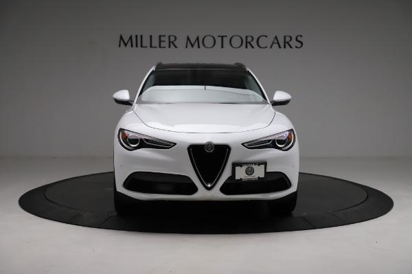 Used 2018 Alfa Romeo Stelvio Q4 for sale Sold at Alfa Romeo of Greenwich in Greenwich CT 06830 13