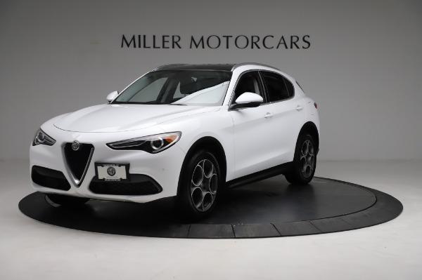 Used 2018 Alfa Romeo Stelvio Q4 for sale Sold at Alfa Romeo of Greenwich in Greenwich CT 06830 2