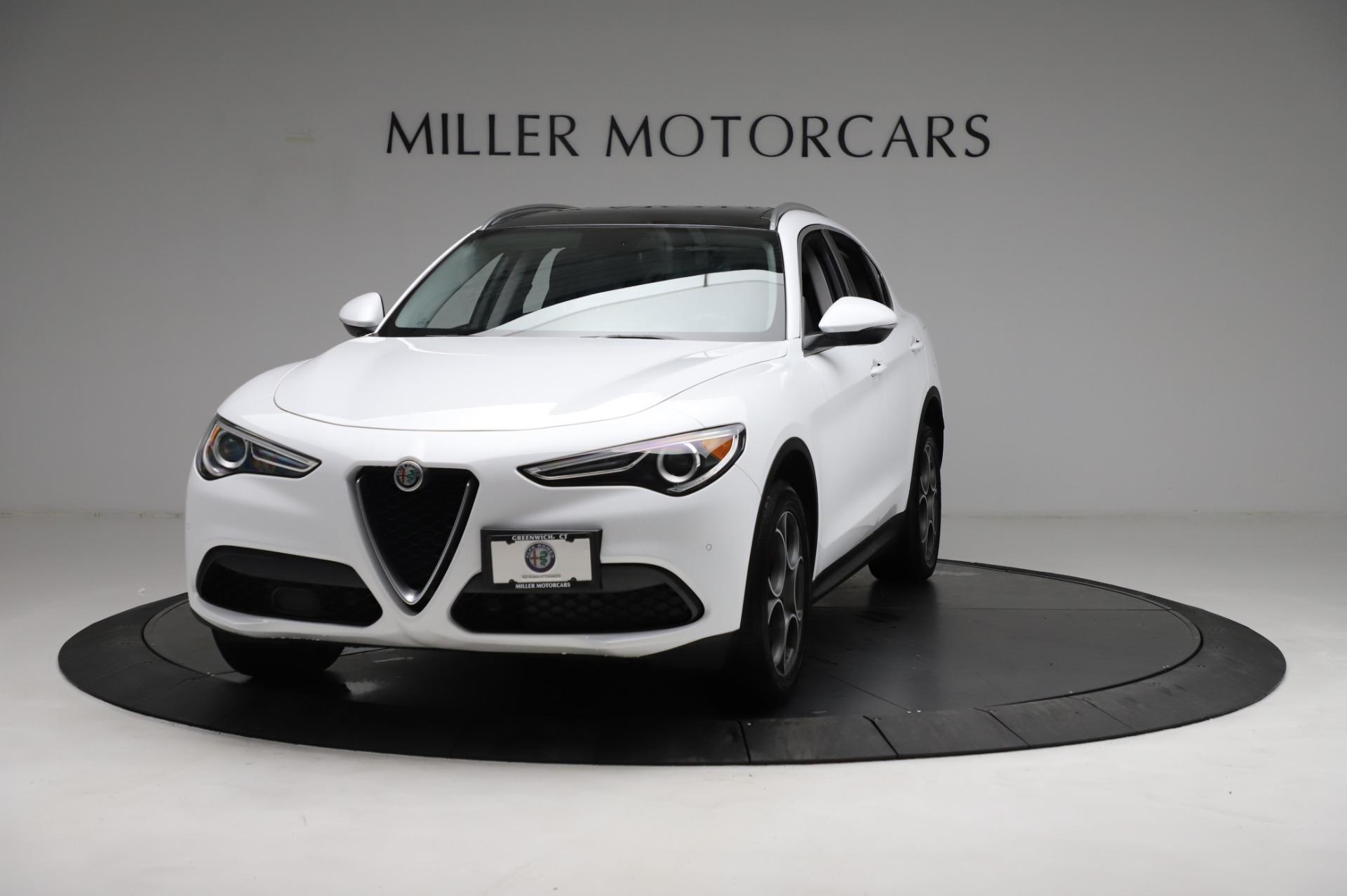 Used 2018 Alfa Romeo Stelvio Q4 for sale Sold at Alfa Romeo of Greenwich in Greenwich CT 06830 1