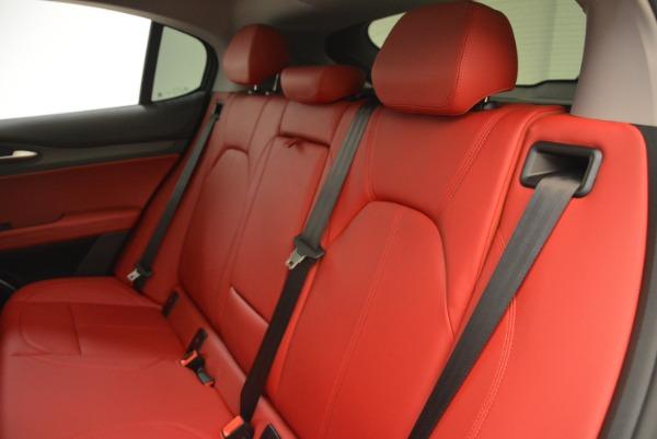 New 2018 Alfa Romeo Stelvio Ti Q4 for sale Sold at Alfa Romeo of Greenwich in Greenwich CT 06830 18