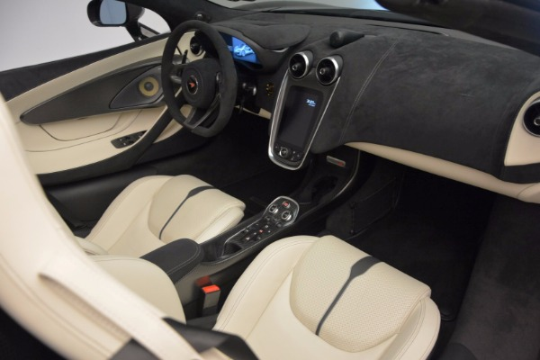 New 2018 McLaren 570S Spider for sale Sold at Alfa Romeo of Greenwich in Greenwich CT 06830 28