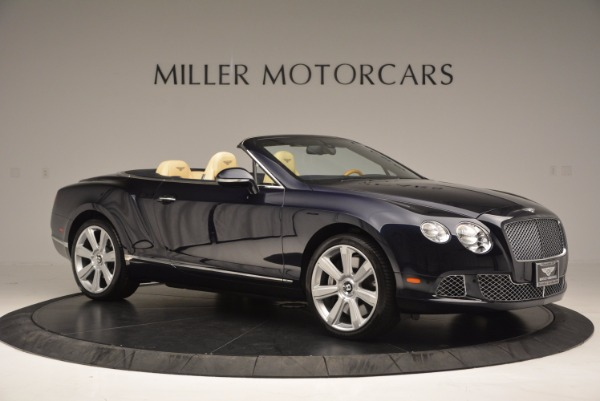 Used 2012 Bentley Continental GTC for sale Sold at Alfa Romeo of Greenwich in Greenwich CT 06830 10